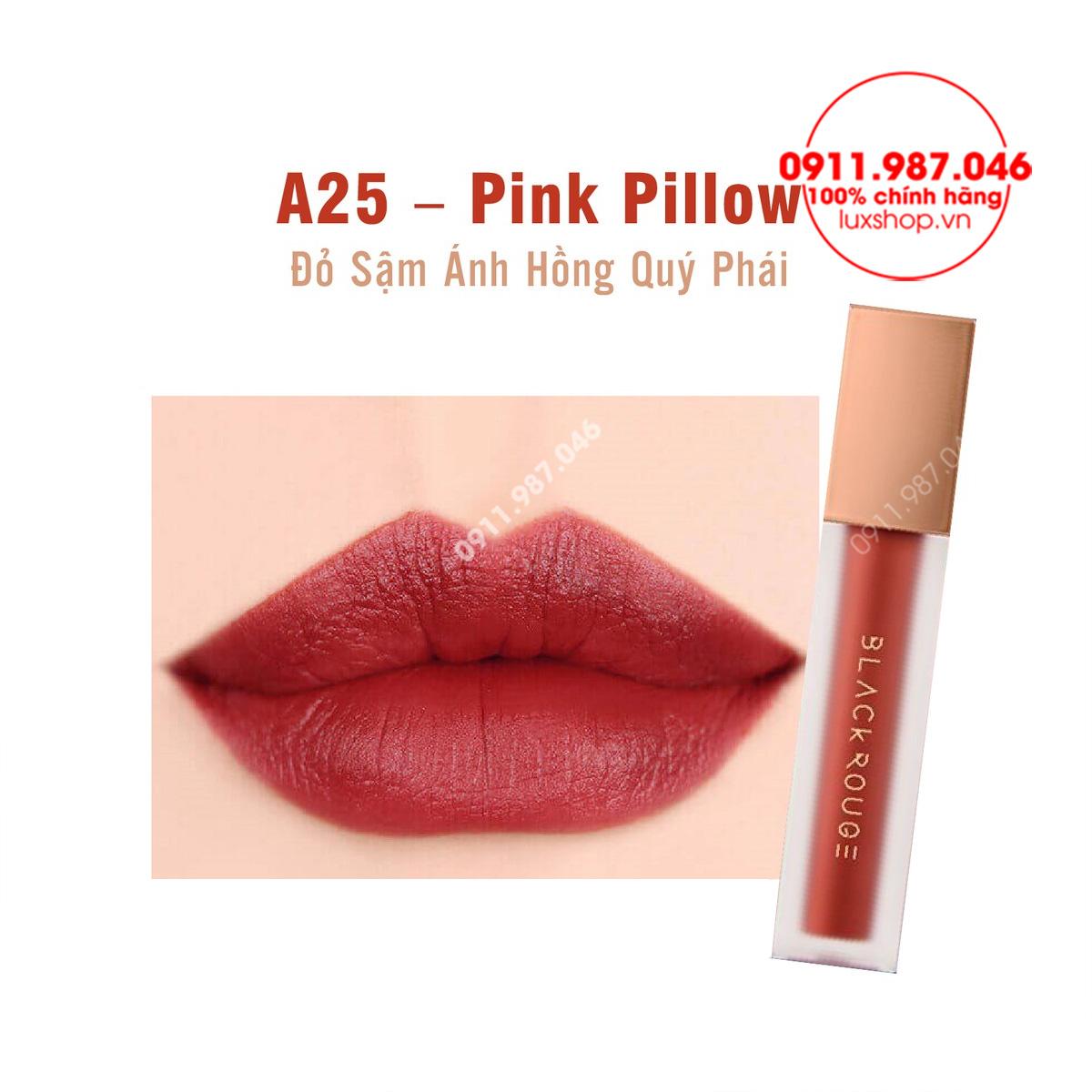 Bảng màu son môi Black Rouge Version 5 vỏ xanh chính hãng (Hàn Quốc)