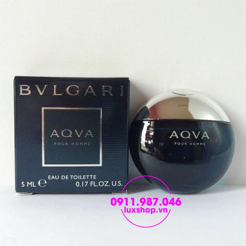 Nước hoa nam Bvlgari Aqva pour homme edt 5ml chính hãng - luxshop.vn