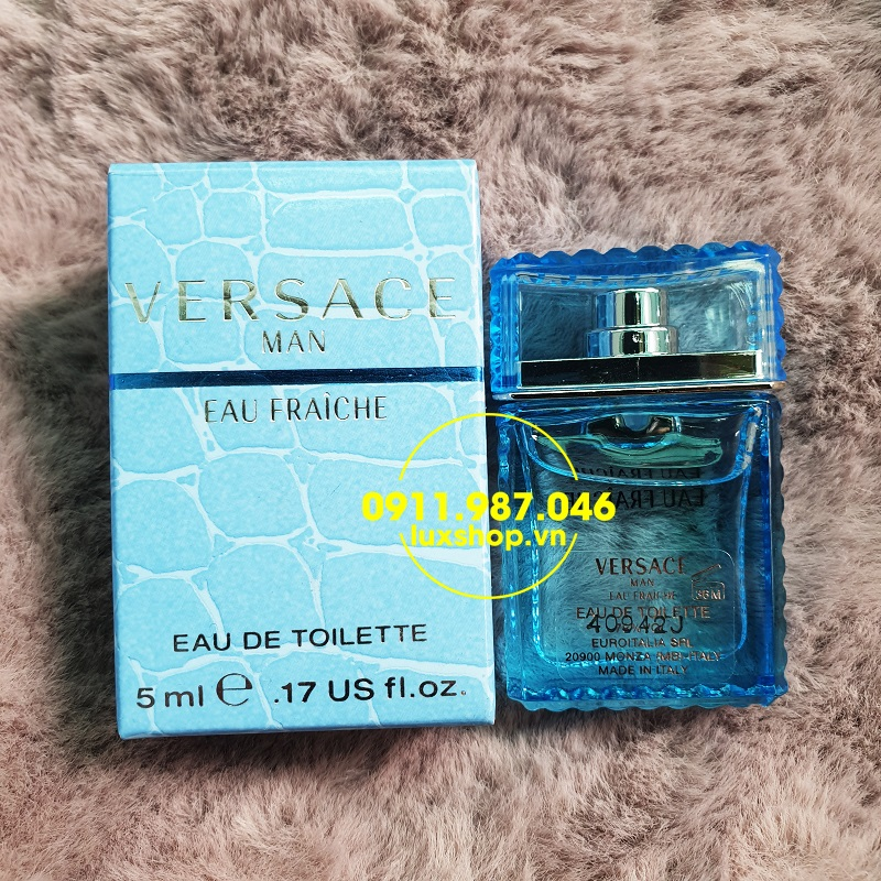 Nước hoa nam Versace Man eau Fraiche edt 5ml chính hãng (ý)