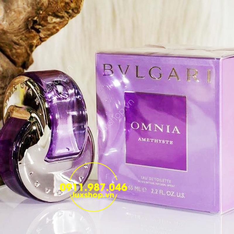 Nước hoa nữ Bvlgari Omnia Amethyste EDT 65ml - luxshop.vn