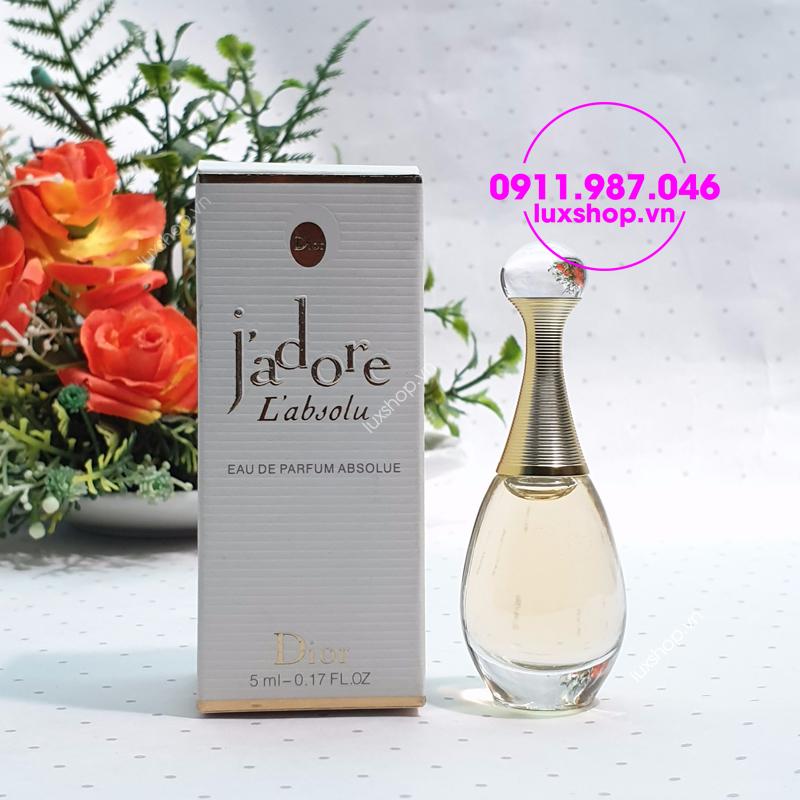 Nước hoa nữ Dior Jadore L'absolu edp 5ml chính hãng - luxshop.vn