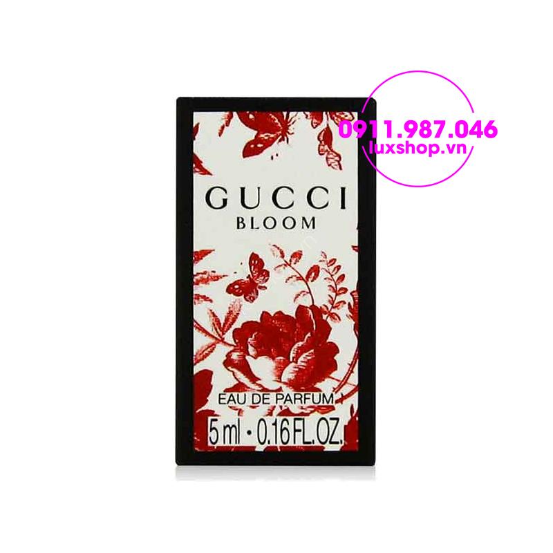 Nước hoa nữ mini Gucci Bloom Gucci EDP 5ml - luxshop.vn