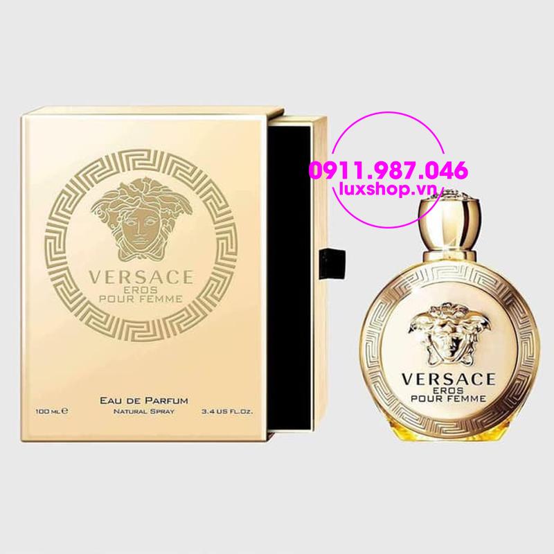 Nước hoa nữ Versace Eros Pour Femme edp 100ml - luxshop.vn