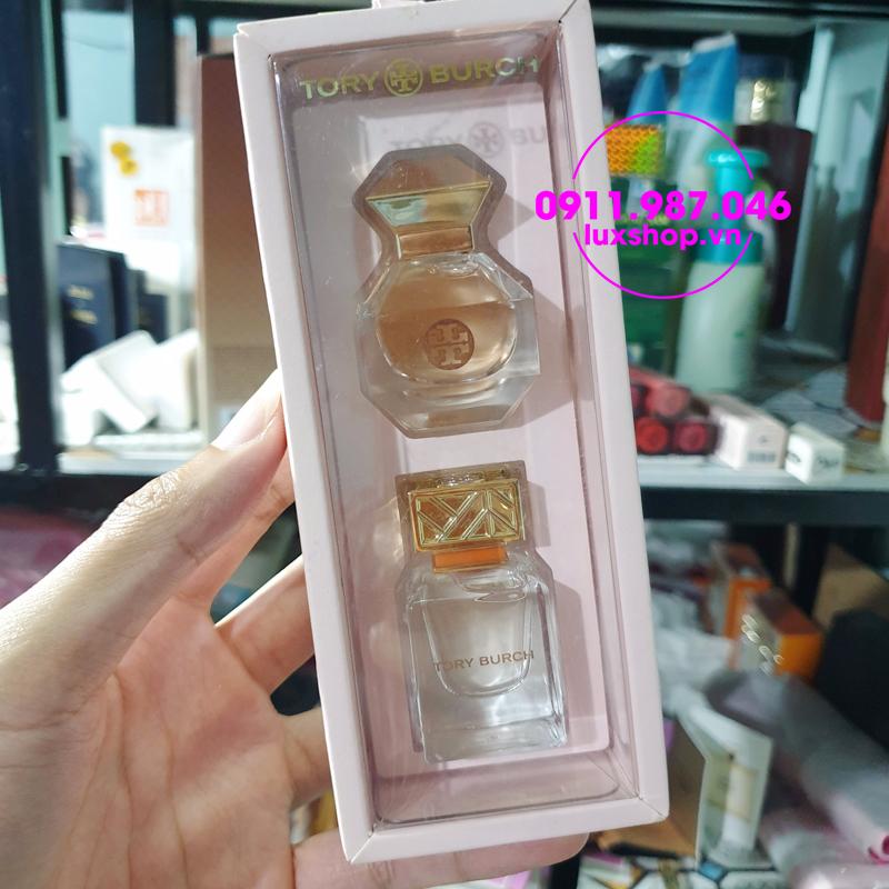 Set nước hoa nữ Tory Burch 2 chai mini chính hãng - luxshop.vn