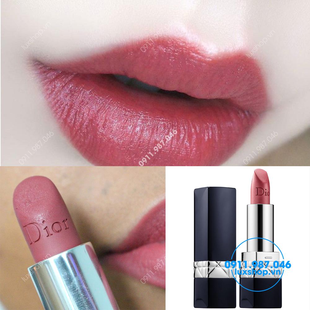 Son môi Dior Rouge 772 Classic Mate màu hồng đất chính hãng (Pháp) - L80349