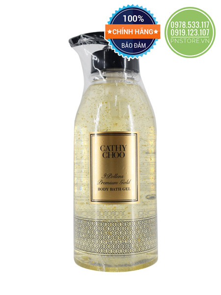 gel-tam-vang-cathy-choo-9-pollens-premium-gold-body-bath-gel-750ml-chinh-hang-thai-lan