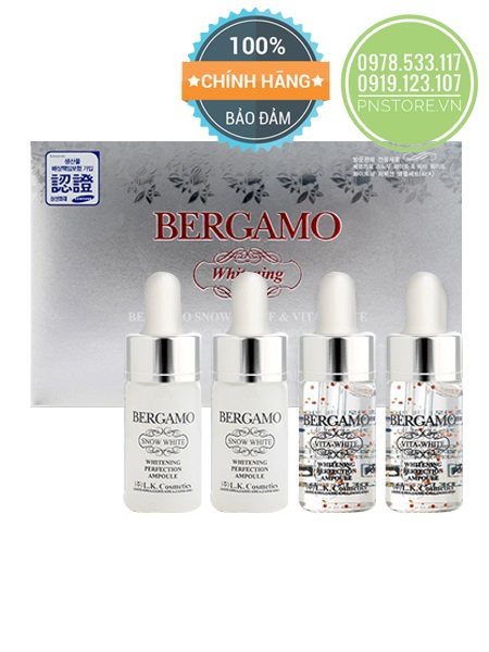 serum-bergamo-snow-white-viva-white-whitening-perfection-ampoule-set-chinh-hang-han-quoc