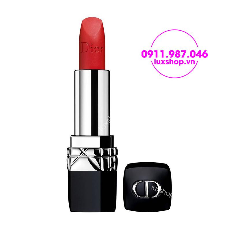 Son Dior Rouge 999 Matte màu đỏ cam 1.5g chính hãng - luxshop.vn