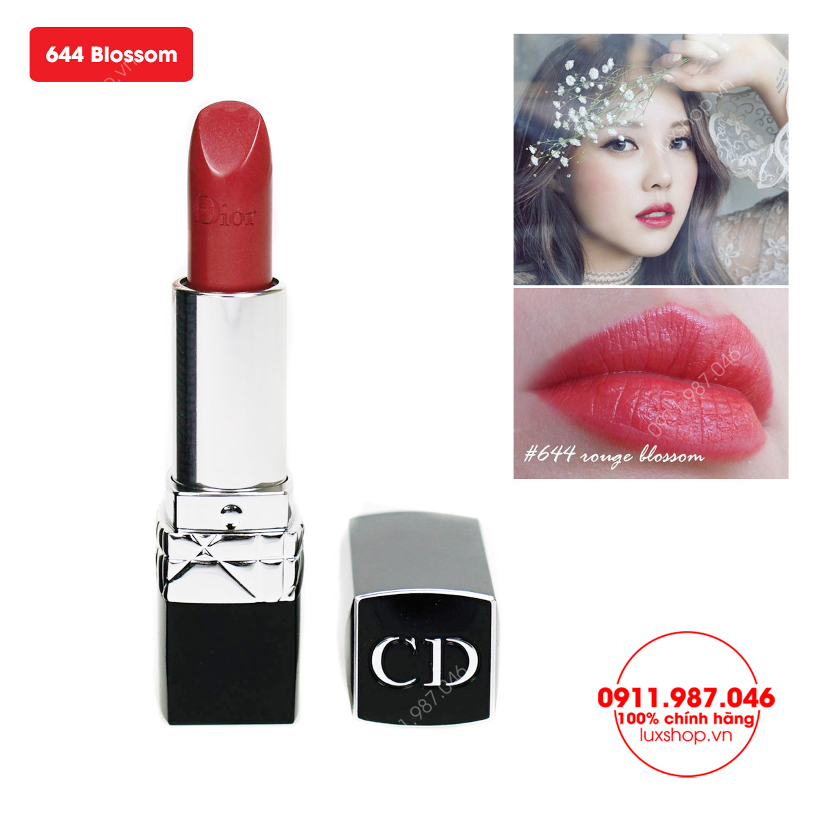 son-moi-cao-cap-dior-rouge-644-blossom-mau-do-hong-35g-chinh-hang-phap-l56280