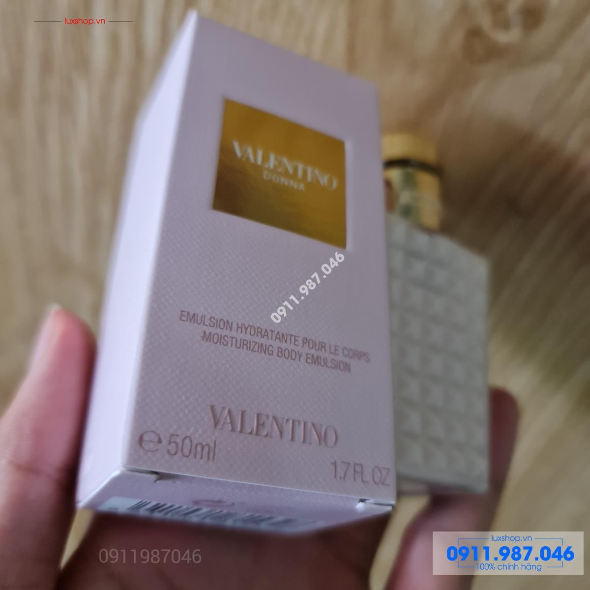Lotion dưỡng thể body Valentino Donna 50ml chính hãng (Made in Spain)