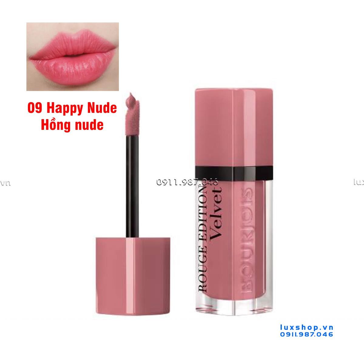 son-kem-bourjois-velvet-09-happy-nude-mau-hong-nude-chinh-hang-phap-pn102026