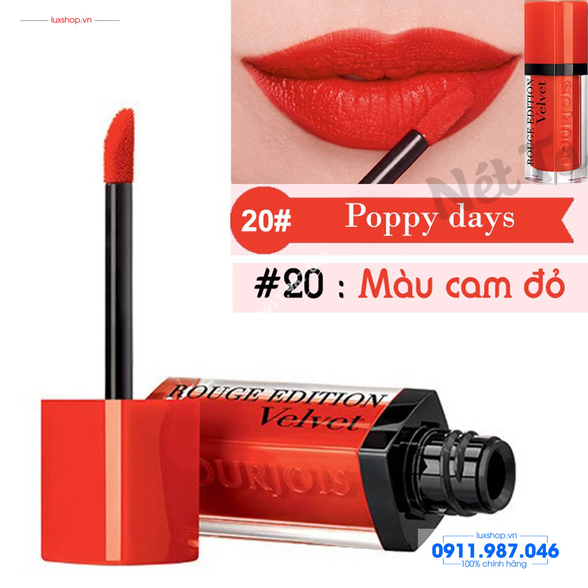 son-kem-li-velvet-20-poppy-days-bourjois-rouge-edition-mau-cam-do-chinh-hang-phap