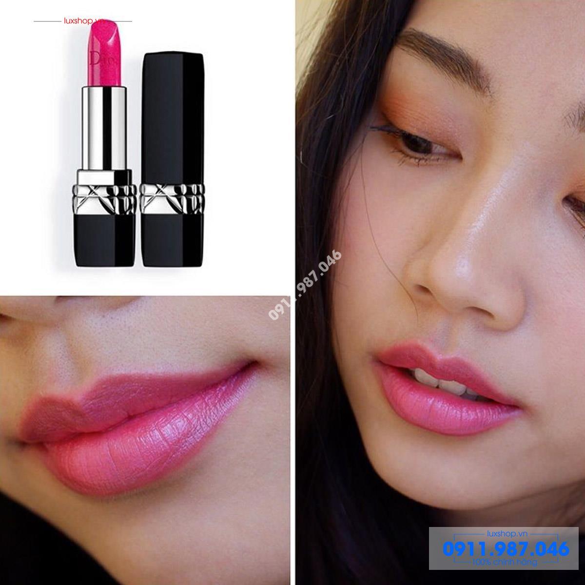 Son môi Dior 047 Miss màu hồng tím chính hãng Pháp - L101973