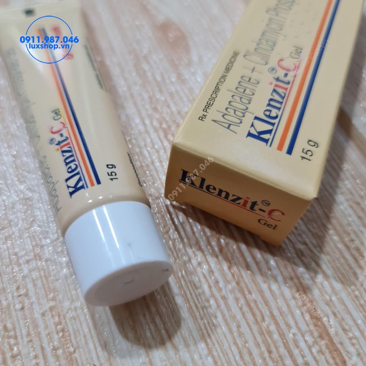 Thuốc bôi trị mụn Klenzit C 15g chính hãng (Ấn Độ)