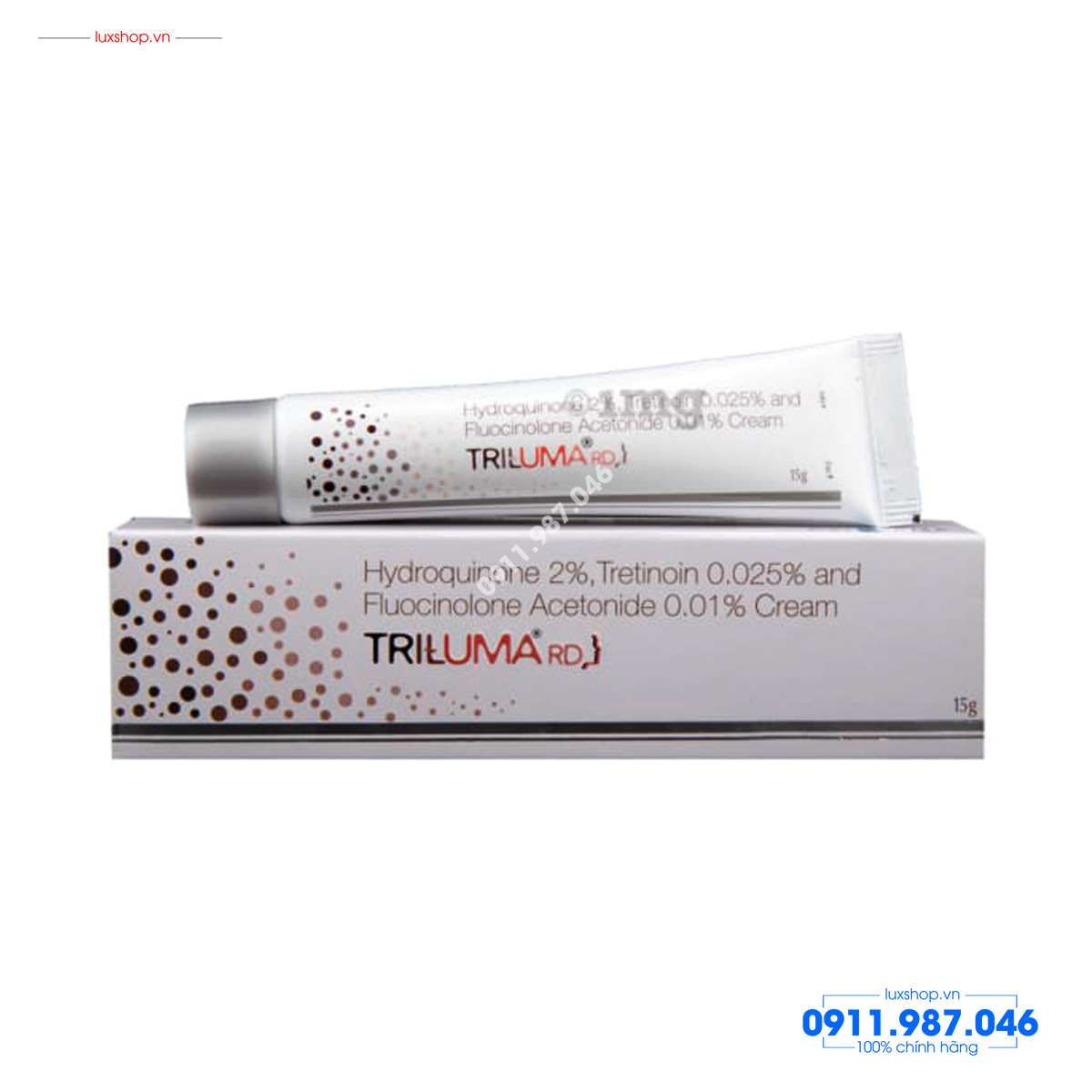 thuoc-tri-nam-triluma-galderma-3-thanh-phan-fluocinolone-acetonide-001-hydroquinone-4-tretinoin-005-an-do